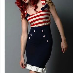 ModCloth Fables by Barrie Sailor Dress